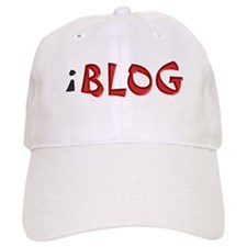Blog Much? Baseball Cap