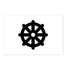 Dharma wheel Postcards (Package of 8)