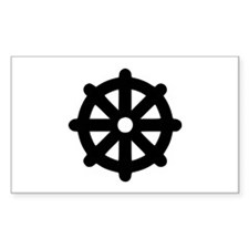 Dharma wheel Decal