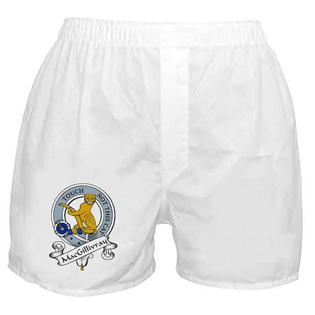 MacGillivray Clan Badge Boxer Shorts