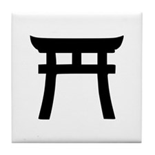 Shinto Tile Coaster