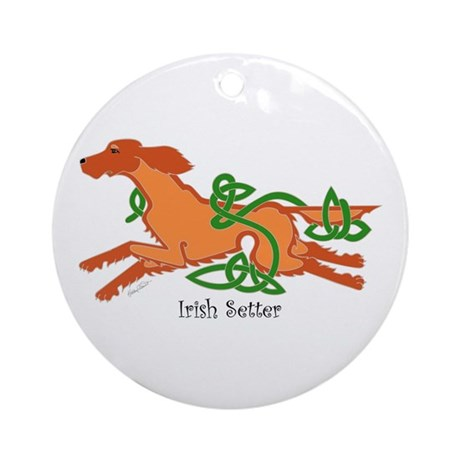 Celtic Irish Setter Ornament