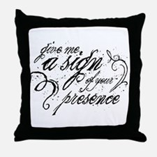 Paranormal Presence Throw Pillow