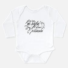Paranormal Presence Long Sleeve Infant Bodysuit