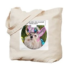 Who invented bunny ears? Tote Bag