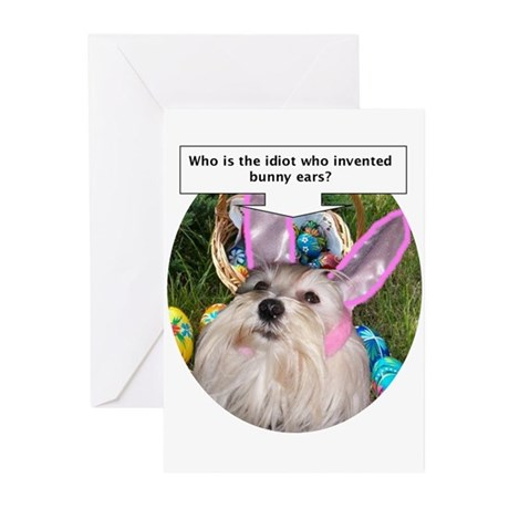 Who invented bunny ears? Greeting Cards (Package o