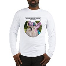 Who invented bunny ears? Long Sleeve T-Shirt