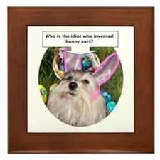 Who invented bunny ears? Framed Tile