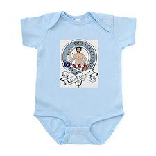 MacFarlane Clan Badge Infant Creeper