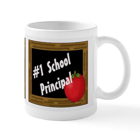 #1 School Principal Mugs