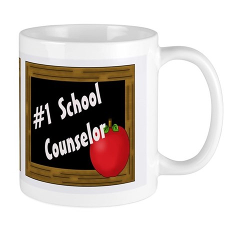 #1 School Counselor Mugs