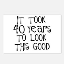 40th birthday, it took 40 years Postcards (Package