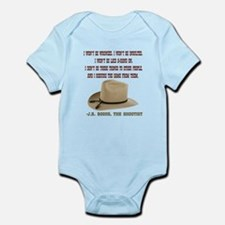 The Shootists Creed Onesie