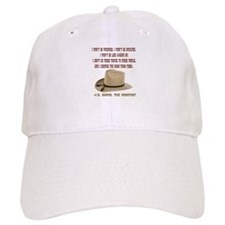 The Shootists Creed Baseball Cap