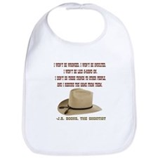 The Shootists Creed Bib