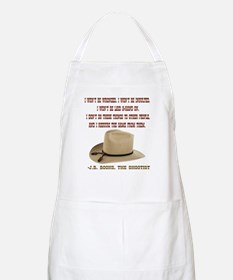 The Shootists Creed Apron