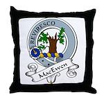 MacEwen Clan Badge Throw Pillow