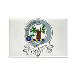 MacEwen Clan Badge Rectangle Magnet (10 pack)