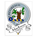 MacEwen Clan Badge Small Poster