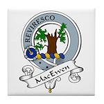 MacEwen Clan Badge Tile Coaster