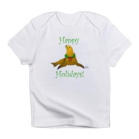 Christmas Sea Lion Infant T-Shirt
