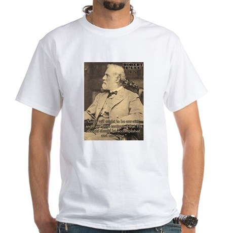 Robert E. Lee - White T-Shirt