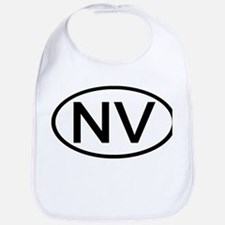Nevada - NV - US Oval Bib