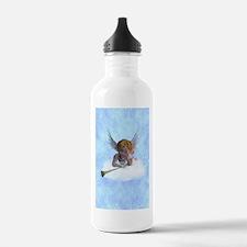 A sweet cherubic angel Water Bottle