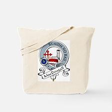 MacDougall Clan Badge Tote Bag
