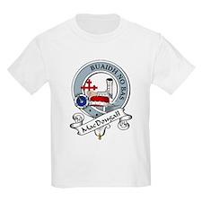 MacDougall Clan Badge Kids T-Shirt