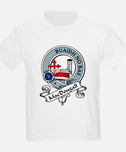 MacDougall Clan Badge Kids T-Shirt