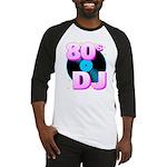 Corey Tiger 80s Retro 80s DJ Baseball Jersey