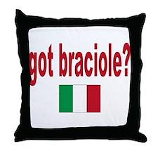 got braciole? Throw Pillow