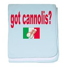 got cannolis baby blanket