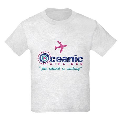 Oceanic Airlines Kids Light T-Shirt
