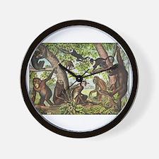 Cute Chimp Wall Clock