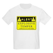 Explosive Temper Alert T-Shirt