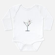 Gilded Partini Long Sleeve Infant Bodysuit