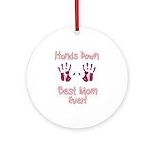 Best Mom Ornament (Round)