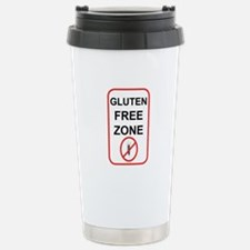 Gluten-Free Zone Travel Mug