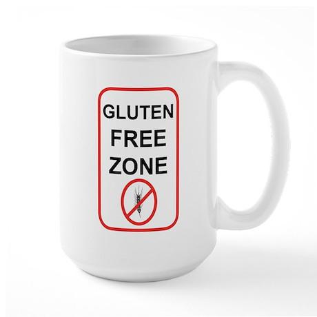 Gluten-Free Zone Large Mug