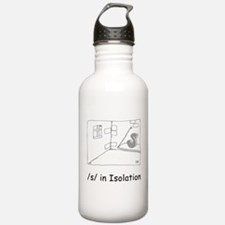 S in isolation Water Bottle
