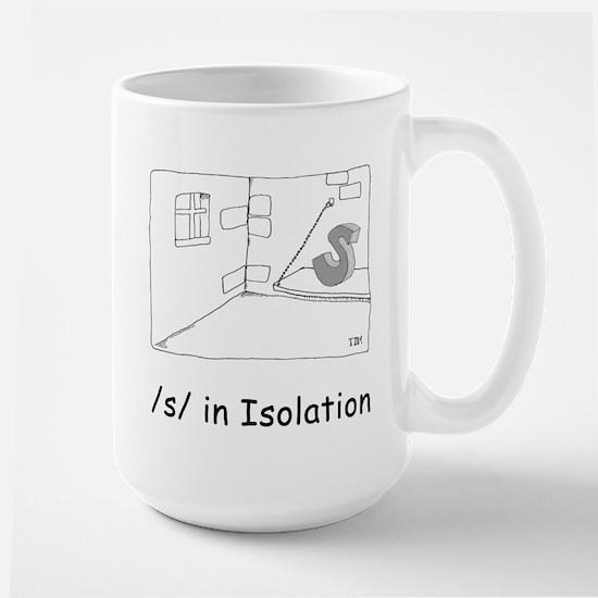 S in isolation Large Mug
