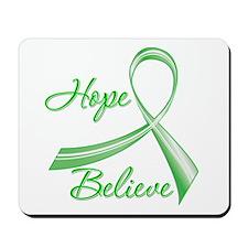 Hope Believe Organ Transplant Mousepad