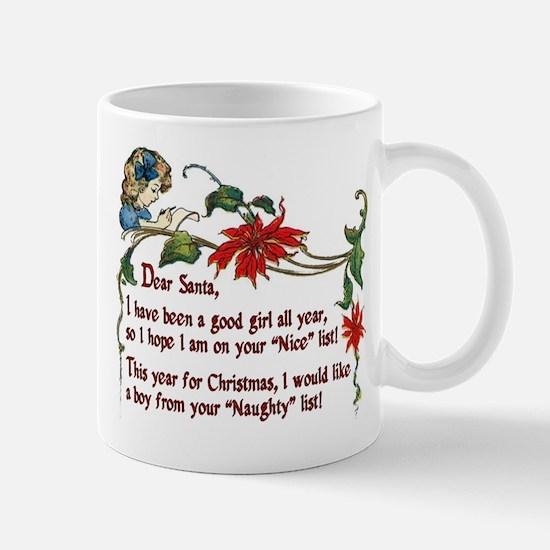 Naughty boys for Christmas - Mug