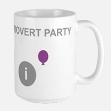 Introvert Party Large Mug