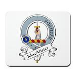 MacAlister Clan Badge Mousepad