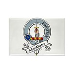 MacAlister Clan Badge Rectangle Magnet (10 pack)