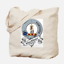 MacAlister Clan Badge Tote Bag