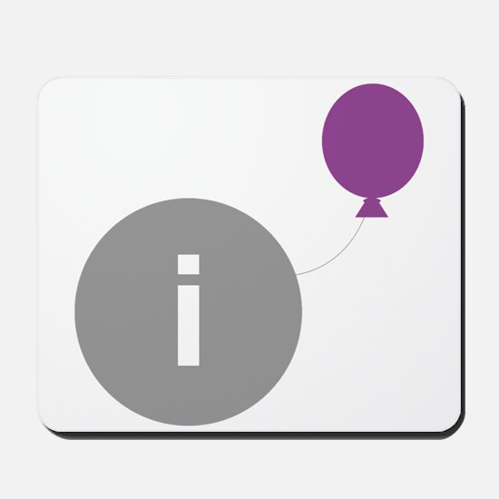 Introvert Party Logo Mousepad